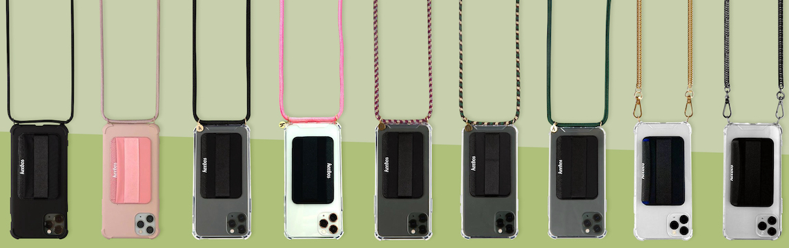 All Keebos Crossbody Phone Cases