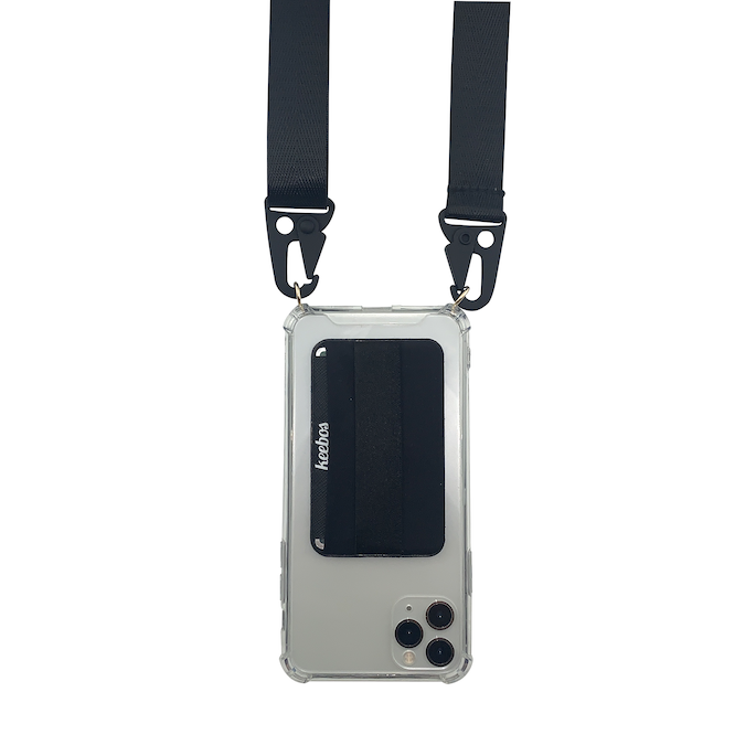 Crossbody Case With Wallet And Detachable Strap