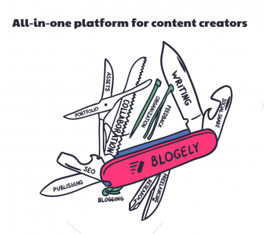 All-in-one software for content creators