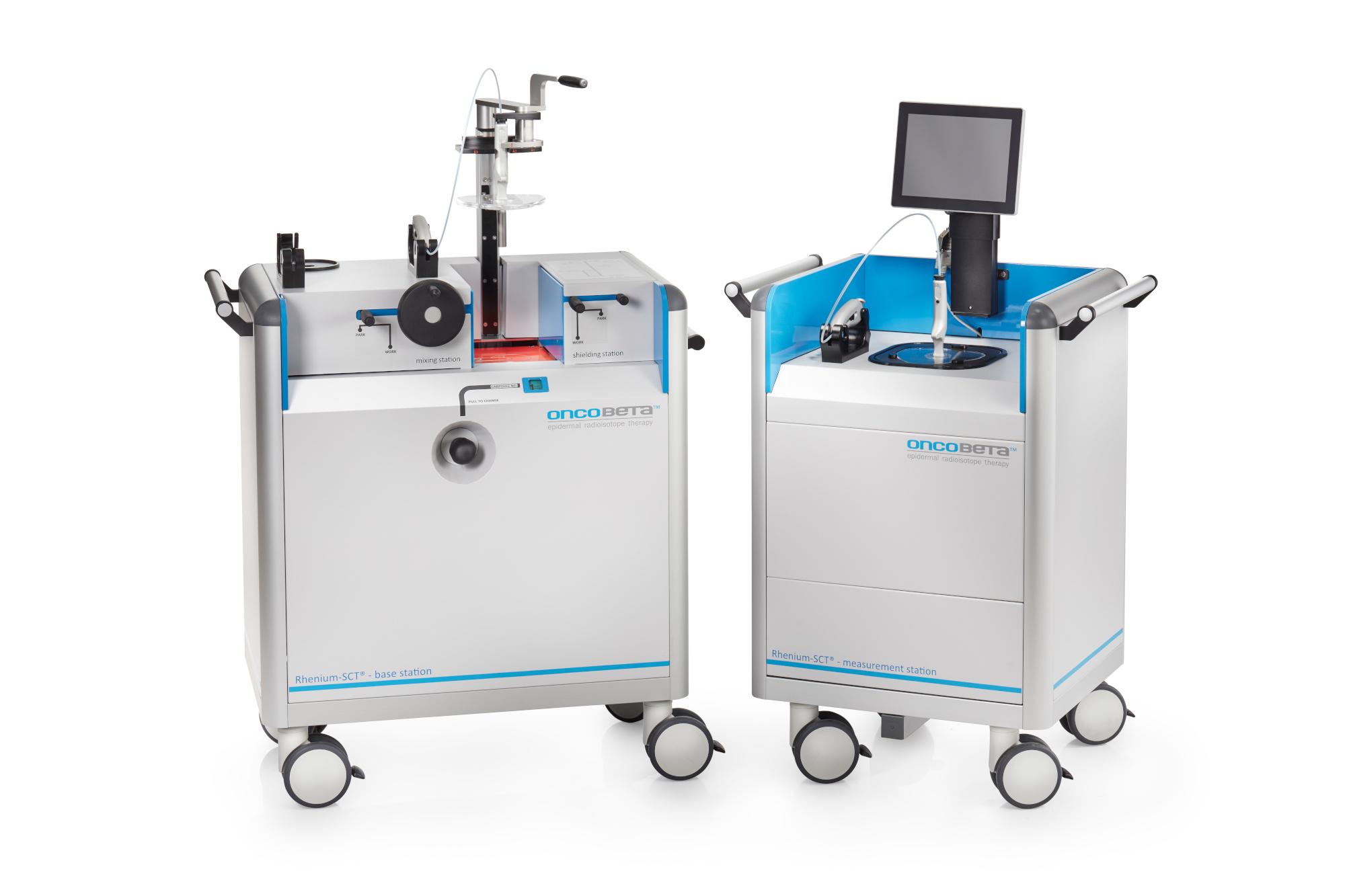 Rhenium-SCT equipment