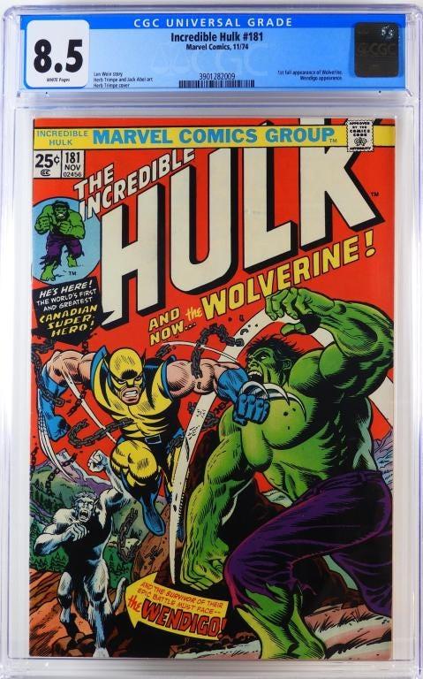 Copy of Incredible Hulk #181 (November 1974)