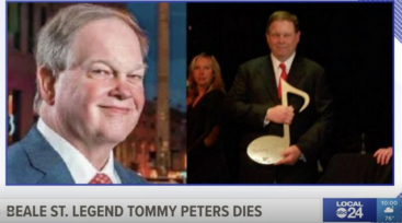 Memphis ABC 24 Covered News of Peters Passing