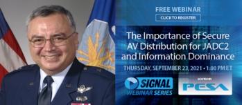 General Vincent to Headline PESA AFCEA Webinar