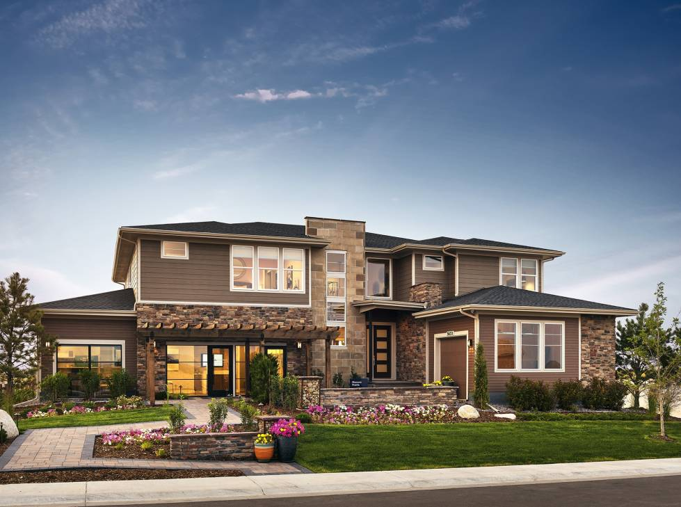 Toll Brothers Shavano Model Home