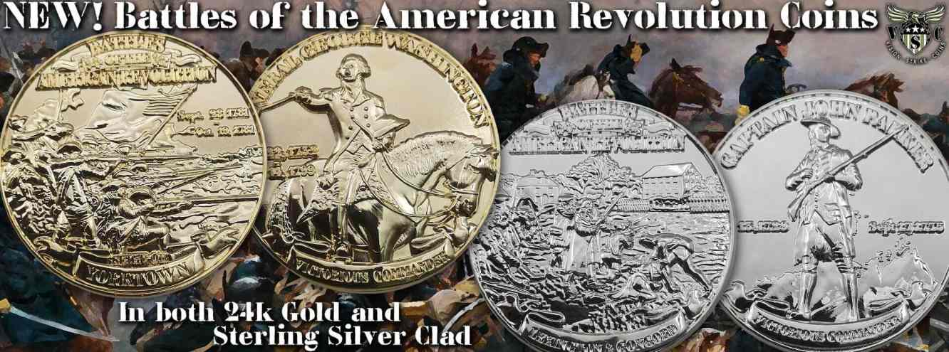 US Military History Coins