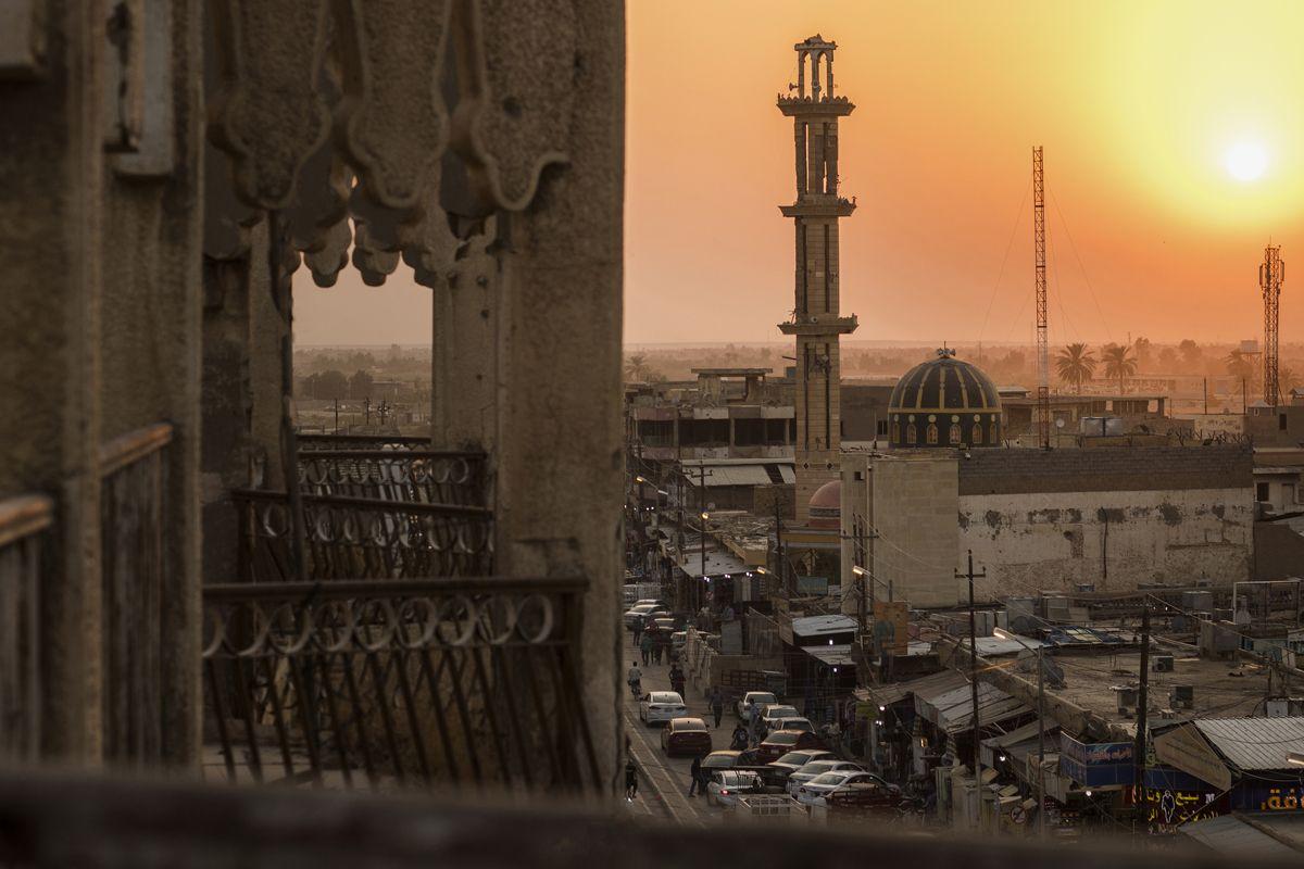 FROM FALLJUAH. Photograph by Mohamed Alani