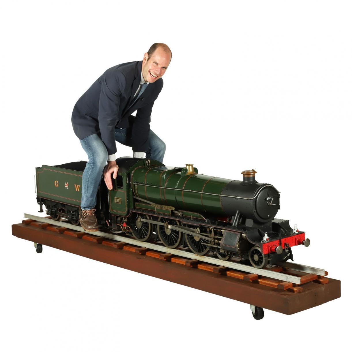 7 ¼ inch gauge model of the Great Western Railway