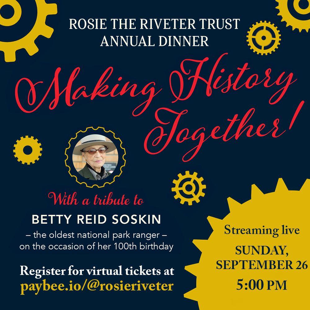 Betty Reid Soskin Rosie Riveter Trust Honor