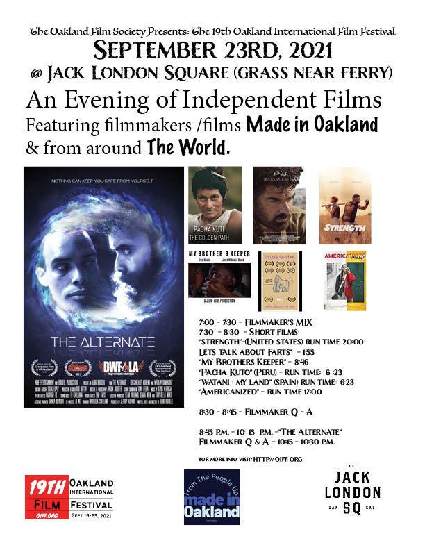 OAKLAND INTL FILM FEST WWW.OIFF.ORG