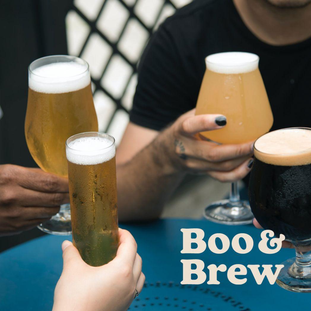 Putting the boo in booze