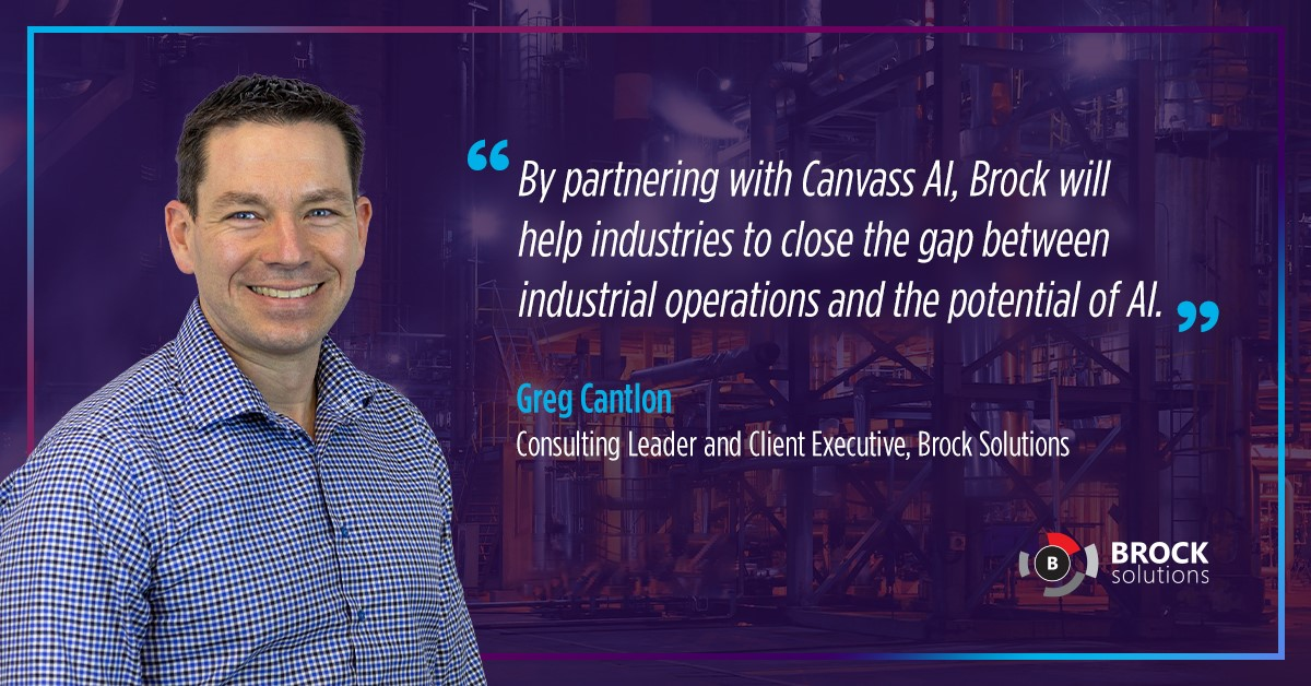 Greg Cantlon, Consulting Leader, Brock Solutions