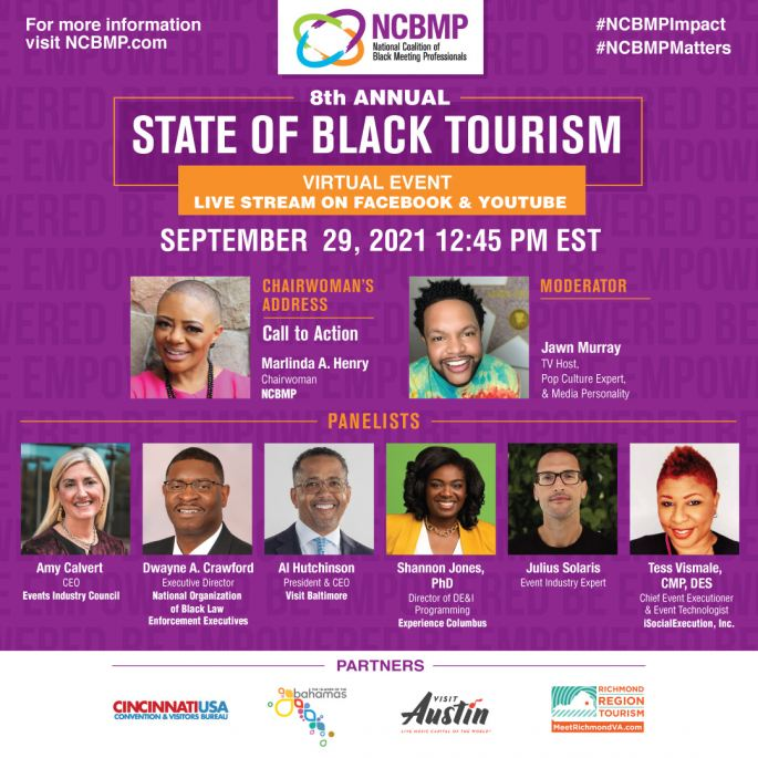 NCBMP's 8th Annual State of Black Tourism