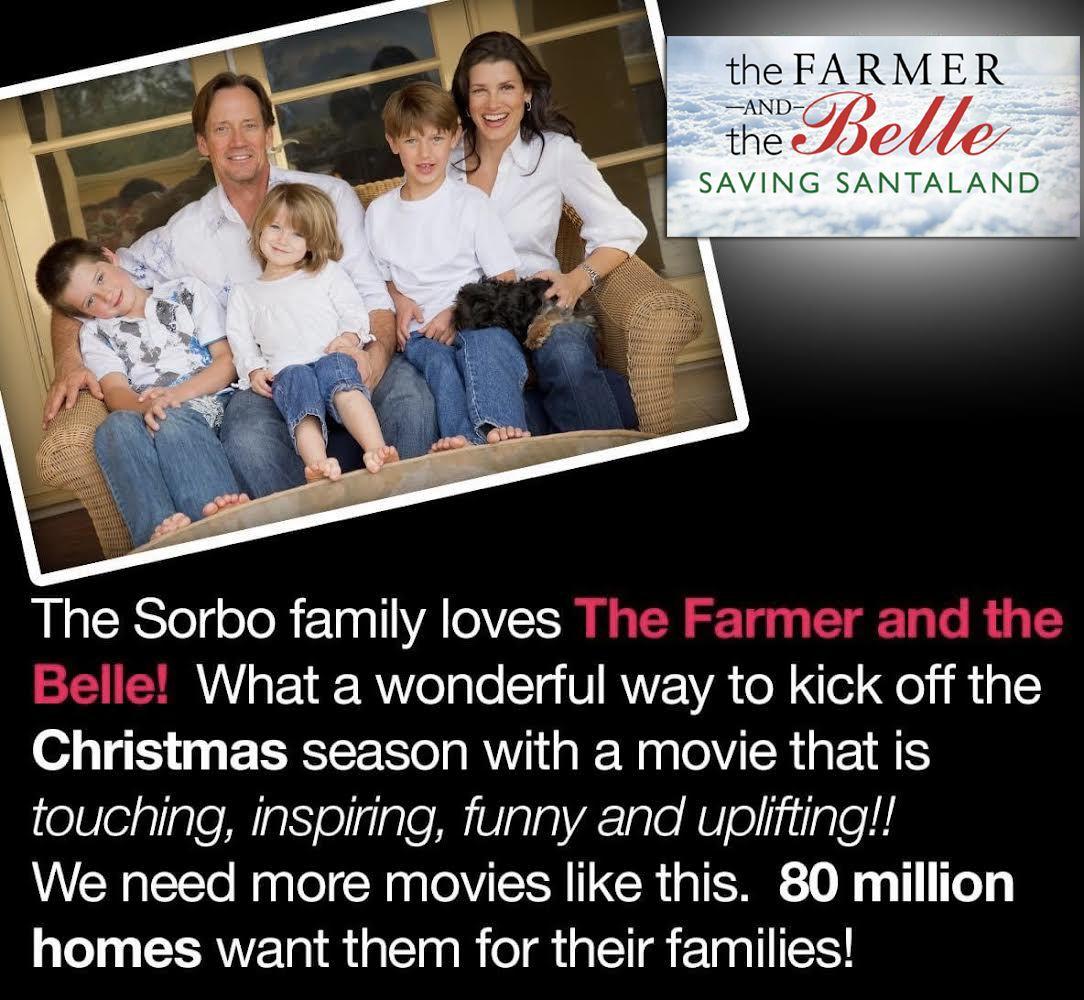 "FAMILY CHRISTMAS COMEDY MOVIE ""Saving Santaland"""