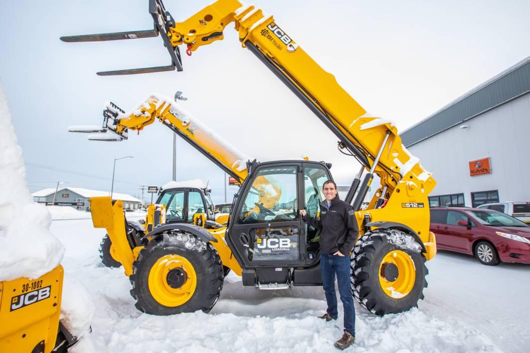JCB Winter Equipment Ready for Rent