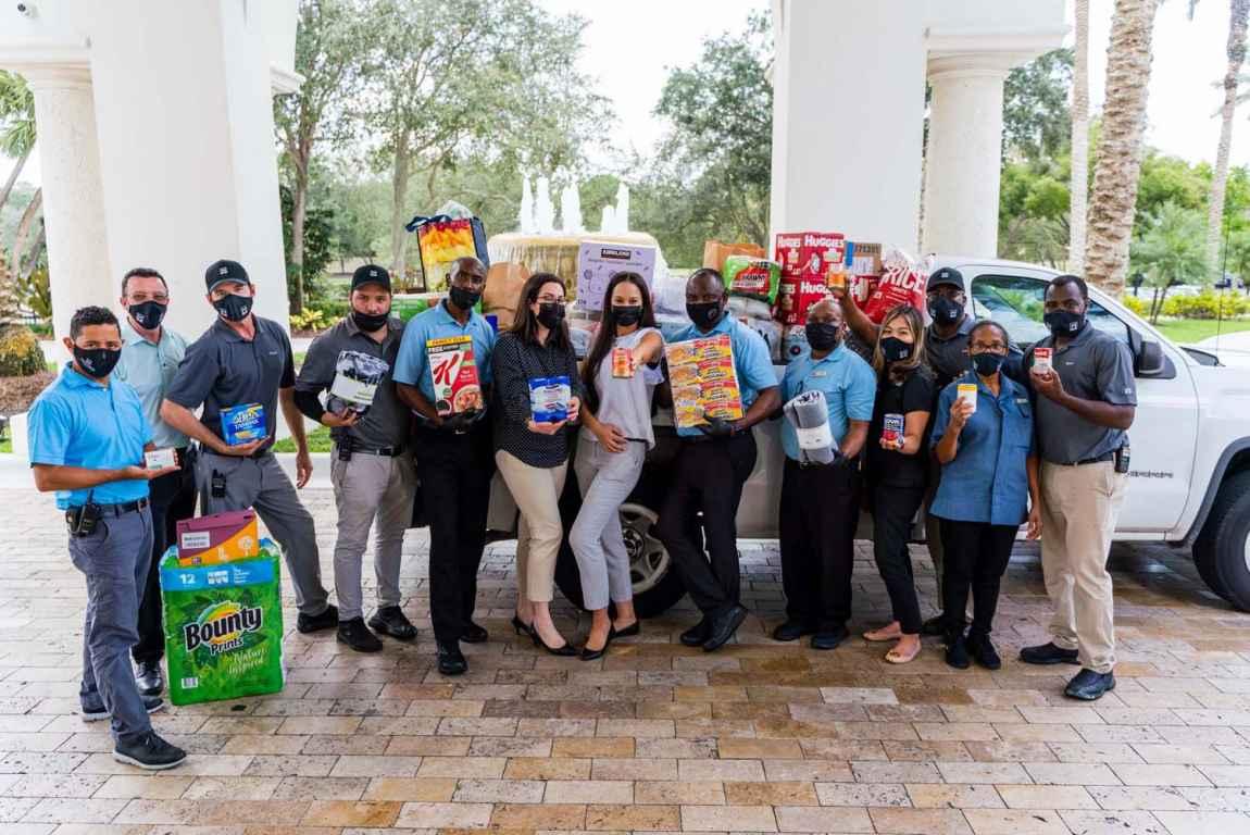 Mizner's Help For Haiti drive