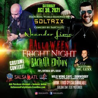 Atlanta Halloween Latin Night Atlanta